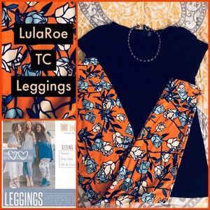 ♦️SALE♦️NEW LULAROE TC PLUS XXL 2X Leggings Floral